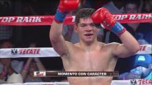 Arturo 'El Pequeño Diamante' Márquez ganó por TKO a Nubian Houston