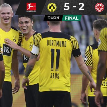 ¡Es un demonio! Borussia Dortmund luce con un Haaland imparable