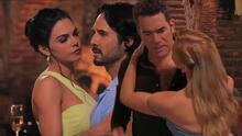 Rafael y Octavio por poco se encuentran acompañados por Fernanda y Julia