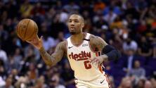 Damian Lillard amenaza con no jugar en el regreso de la NBA