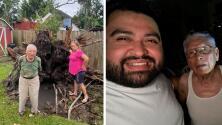 Vecinos se unen para ofrecer ayuda a veterano afectado por el paso de Nicholas