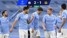 Con polémica, Manchester City rescata triunfo agónico ante el Dortmund