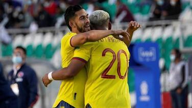 Andrés Andrade es baja para Colombia ante Chile