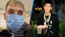 Natanael Cano alarma a sus fans desde el hospital y revela la enfermedad que padece