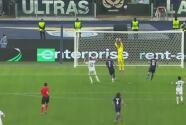 ¡Terrible! Immobile manda por arriba un gol cantado ante el Marsella