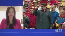 Oposición venezolana sale a las calles a protestar durante el Primero de mayo