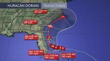 Dorian se convierte en un huracán de categoría 5 y avanza hacia el norte de las Bahamas
