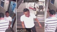 Este hombre es sospechoso de patear y botar por una escalera a un pasajero de la CTA