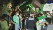 ¡Festejan el pase a la Final! Afición de León celebra en las calles