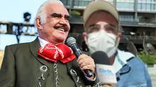 Vicente Fernández Jr. asegura que la mejora de su papá evidencia las mentiras publicadas por una revista