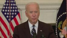 El presidente Joe Biden anuncia plan de seis pilares para controlar el covid-19