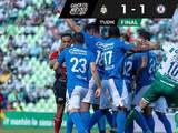 Cruz Azul fue práctico y sumó su primer punto del torneo con un empate ante Santos