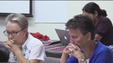 Misioneras se unen para orar por los afectados por la crisis migratoria