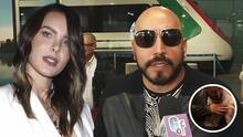 """""""Optamos por tapárselo"""": Lupillo Rivera se borra el tatuaje de Belinda tras anuncio de su compromiso"""