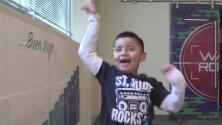 La historia de Isaac, un pequeño que puede seguir sonriendo gracias al hospital St Jude