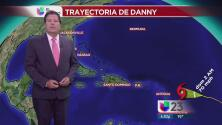Huracán Danny se ha debilitado