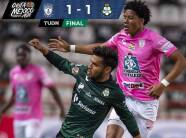 Pachuca reparte puntos al igualar 1-1 con Santos en el Estadio Hidalgo