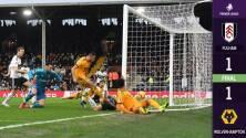 Jiménez y los Wolves no aullaron y empataron ante Fulham en el 'Boxing Day'
