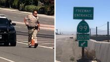 Muere hombre durante tiroteo con oficial en la autopista 99