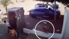 (Video) Niño de tres años huye de una balacera en México y logra salir ileso