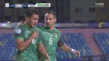 ¡Polémica! Erwin Saavedra hace el 0-1 de penalti ante Paraguay