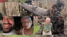 Ofrecen ayuda a veterano afectado por el paso del huracán Nicholas en el área de Spring Branch