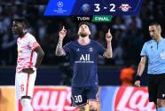Resumen | Con doblete de Messi, PSG le da la vuelta 3-2 al Leipzig