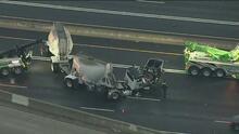 Atención conductores, se registra tráfico pesado sobre la I-60 en Pomona por accidente vehicular
