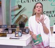 Los secretos de belleza de Aleyda Ortiz quedaron al descubierto en Ganga + Deals