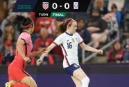 Team USA no puede romper la defensa de Corea del Sur y empatan 0-0