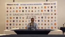 Antonio Valencia se despide del futbol
