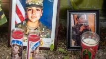 """""""Que Dios y la Virgen de Guadalupe estén a tu lado"""": las emotivas palabras de la hermana de Vanessa Guillén en la despedida de su funeral"""