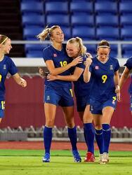 Suecia deja atrás a Australia por la mínima y avanza a la Final de los Juegos Olímpicos de Tokyo 2020. Fridolina Rolfo fue la jugadora que le dio la victoria a la escuadra escandinava, quien se medirá ante Canadá por la medalla de oro.
