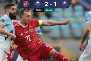 Con doblete de Dzyuba, Rusia sentenció a Eslovenia en Eliminatoria