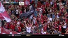 Jozy Altidore vence al portero con un letal disparo cruzado, Toronto 2-0 LA Galaxy