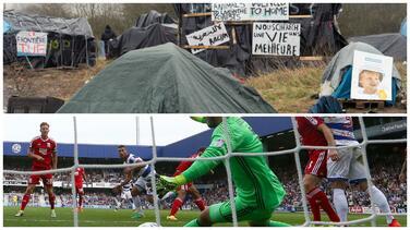 Un club inglés pone autobuses al rescate de niños refugiados de la 'jungla' de Calais