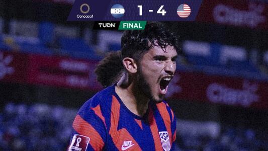 De la mano de Ricardo Pepi, Team USA revivió y aplastó a Honduras