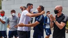 Sergio Busquets regresó con España