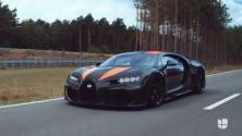 Mira cómo el Bugatti Chiron pulveriza la barrera más mítica de velocidad