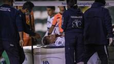 Johan Vásquez está fuera de peligro, informa Pumas