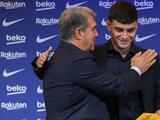 ¿Todavía lo extraña? Joan Laporta confundió a Pedri con Messi