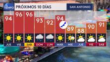 Temperaturas en San Antonio comenzarán a descender para darle la bienvenida al otoño