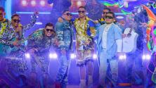 Grupo Firme y Marca MP cantan su éxito 'El Güero' en Premios Juventud