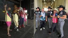 📸 El Pelón y El Feo hicieron de las suyas en el 'Súper Clásico', entre América y Chivas