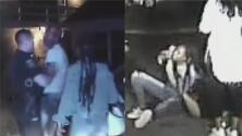 Revelan video de presunto ataque a agente de policía de Aurora que involucra a tres sujetos