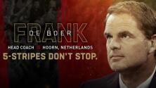 Multicampeón holandés y leyenda del Barcelona, Frank de Boer, asume las riendas de Atlanta United