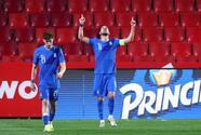 Con penal de Bakasetas, Grecia rescata el empate ante España