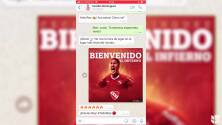 ¡Independiente presentó a Cecilio Domínguez por WhatsApp!