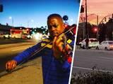 Músico profesional toca el violín en las calles de Los Ángeles para subir la energía de la comunidad