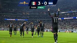 ¡El Tri está en Semis! Un muy superior México borró a Honduras